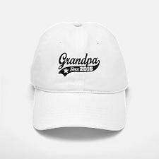Grandpa Since 2016 Baseball Baseball Cap