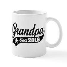 Grandpa Since 2016 Small Mugs