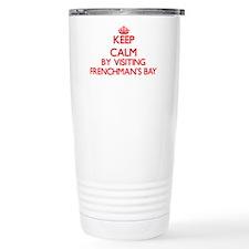 Keep calm by visiting F Travel Mug