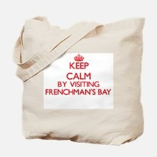 Keep calm by visiting Frenchman'S Bay Vir Tote Bag