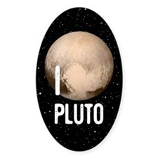 I Cardiac Pluto Stickers
