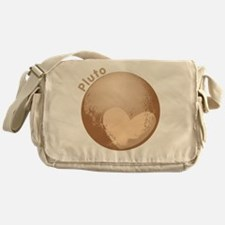 Cute Pluto Heart Messenger Bag