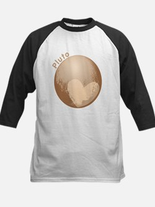 Cute Pluto Heart Baseball Jersey
