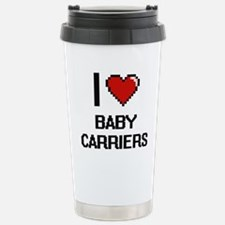 I Love Baby Carriers Di Stainless Steel Travel Mug
