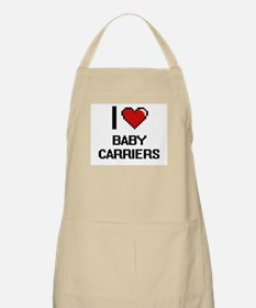 I Love Baby Carriers Digitial Design Apron