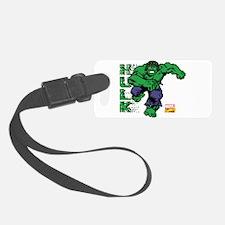 Hulk Pixel Luggage Tag