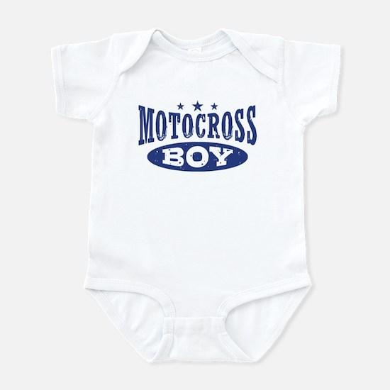 Motocross Boy Infant Bodysuit