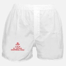 Keep calm by visiting Swimming Hole N Boxer Shorts