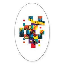 Iron Man Square Pixel Decal