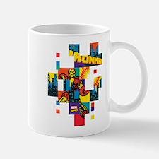 Iron Man Square Pixel Mug