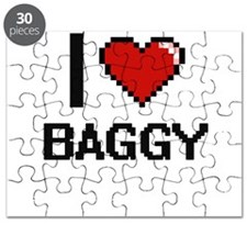I Love Baggy Digitial Design Puzzle