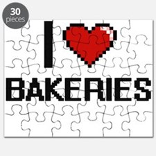 I Love Bakeries Digitial Design Puzzle