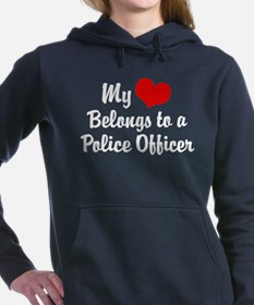 Funny Policeman Women's Hooded Sweatshirt