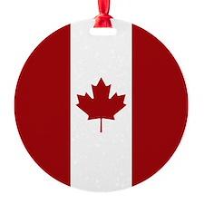 Canadian Flag Ornament