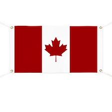 Canadian Flag Banner