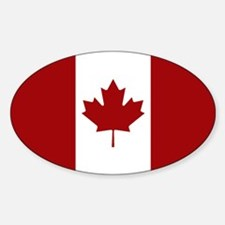 Canada: Canadian Flag (Red & White) Decal