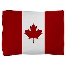 Canadian Flag Pillow Sham