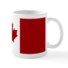 Canada: Canadian Flag (Red & White) Mug