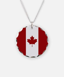 Canada: Canadian Flag (Red & Necklace
