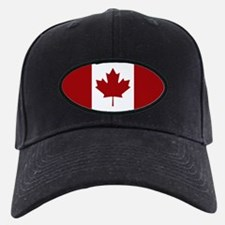 Canada: Canadian Flag (Red & White) Baseball Hat