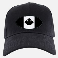 Canada: Black Military Flag Baseball Hat
