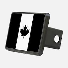 Canada: Black Military Fla Hitch Cover