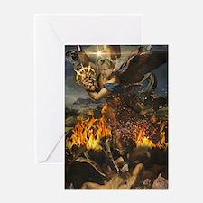 Saint Gordon Ramsay and the Holy Ris Greeting Card
