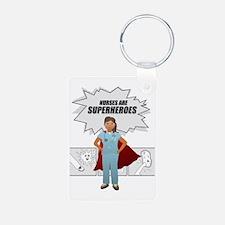 Nurses are Superheroes  Keychains