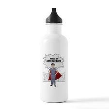 Nurses are Superheroes Water Bottle