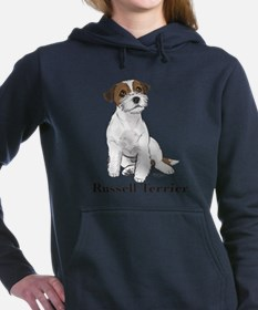 Cool Jack russell terrier Women's Hooded Sweatshirt