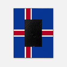 Square Icelandic Flag Picture Frame