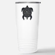 Black Native American B Travel Mug