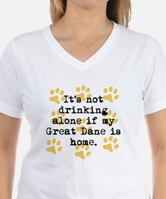 If My Great Dane Is Home T-Shirt