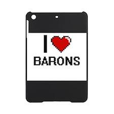 I Love Barons Digitial Design iPad Mini Case