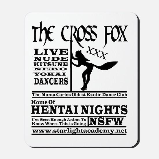 Cross Fox Mousepad