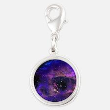 Purple Nebula Charms