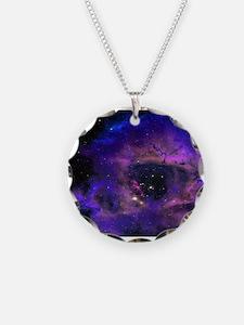 Purple Nebula Necklace