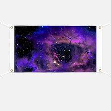 Purple Nebula Banner