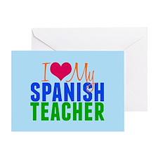 Spanish Teacher Greeting Card