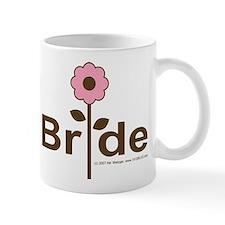 Team Bride Pink Rose Mug