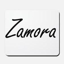 Zamora surname artistic design Mousepad
