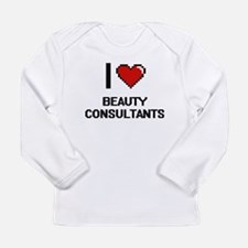 I Love Beauty Consultants Digi Long Sleeve T-Shirt