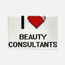 I Love Beauty Consultants Digitial Design Magnets