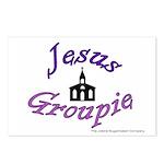 Jesus Groupie Postcards (Package of 8)
