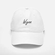 Wynn surname artistic design Baseball Baseball Cap