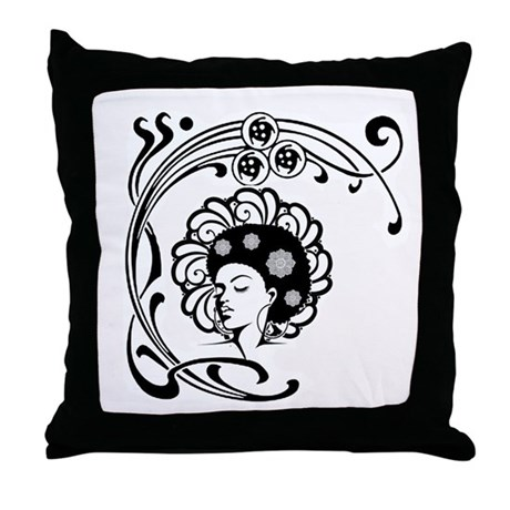 Queen Throw Pillow by Admin_CP124949411