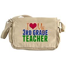 3rd Grade Teacher Messenger Bag