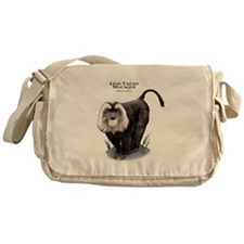 Lion-Tailed Macaque Messenger Bag