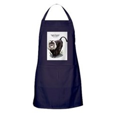 Lion-Tailed Macaque Apron (dark)