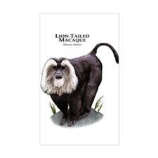 Lion-Tailed Macaque Decal